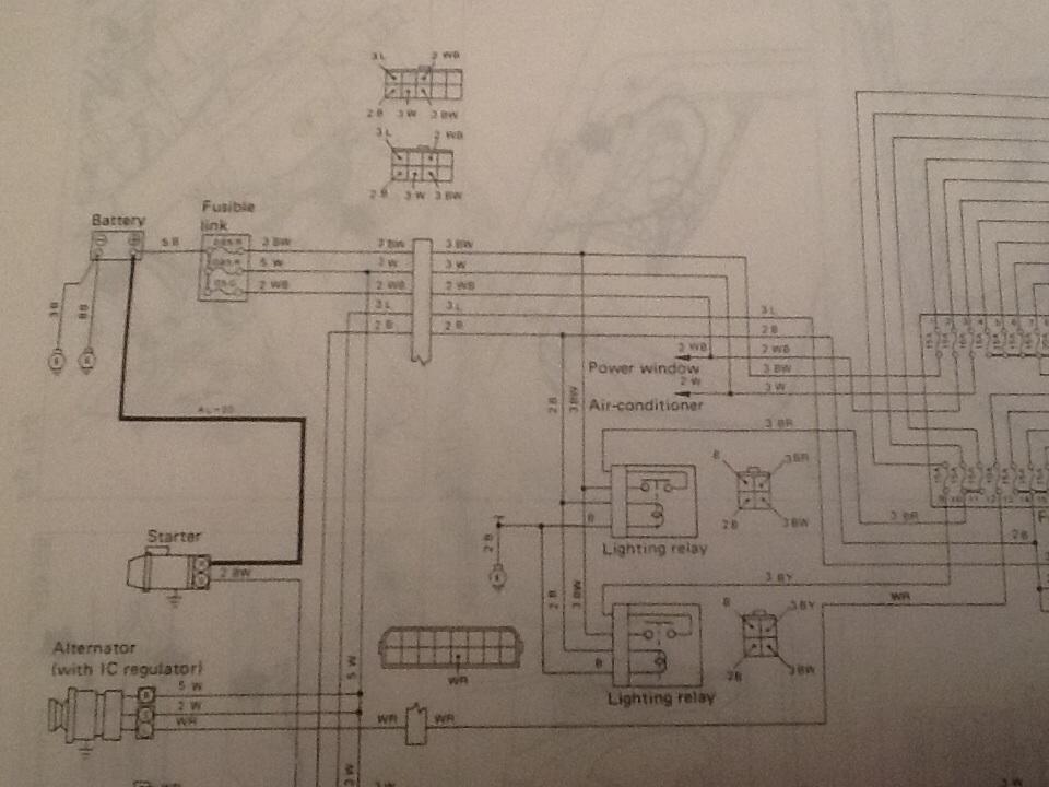 Brat  Brumby Light Switch Wiring  Dl  Xt