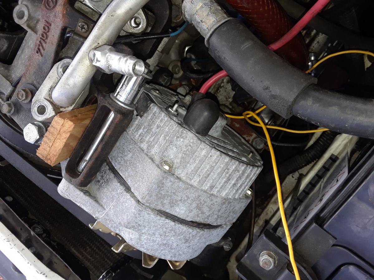 1991 Ea82 Alternator Upgrade To 2002 Ej25 - Old Gen   80 U0026 39 S Gl  Dl  Xt  Loyales