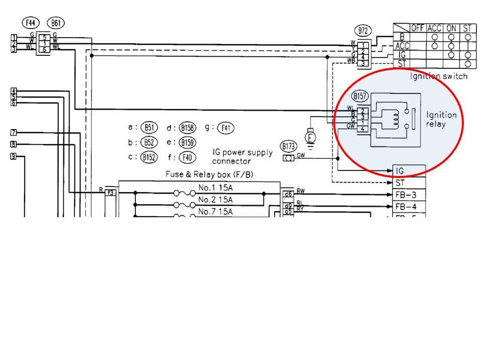 Steering Column Wiring Diagram Subaru Baja